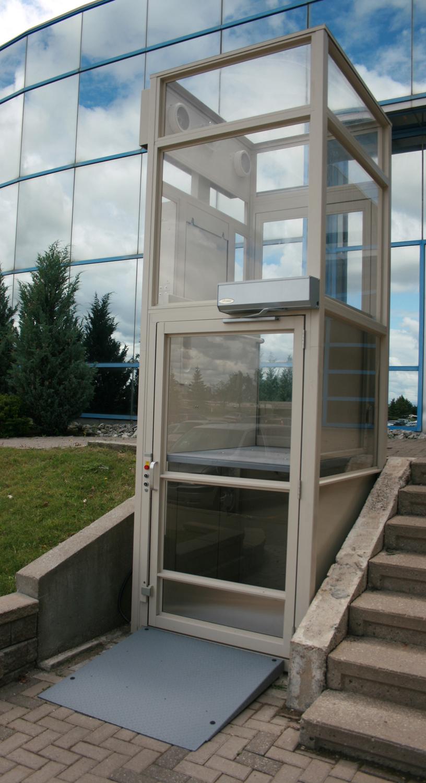 vertical platform lift perma tronic elevator